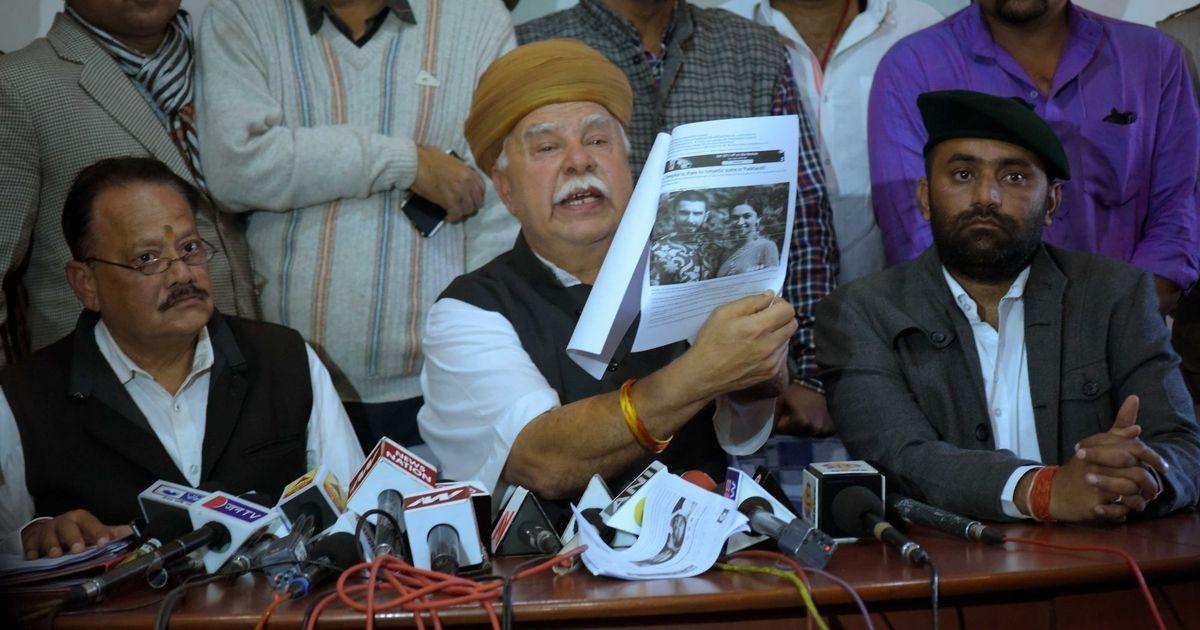 Rajput Karni Sena threatens nationwide strike on December 1 if 'Padmavati' is released