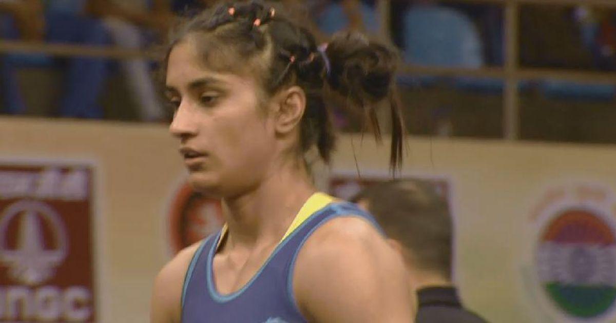 Vinesh and Ritu Phogat bag gold at Wrestling Nationals