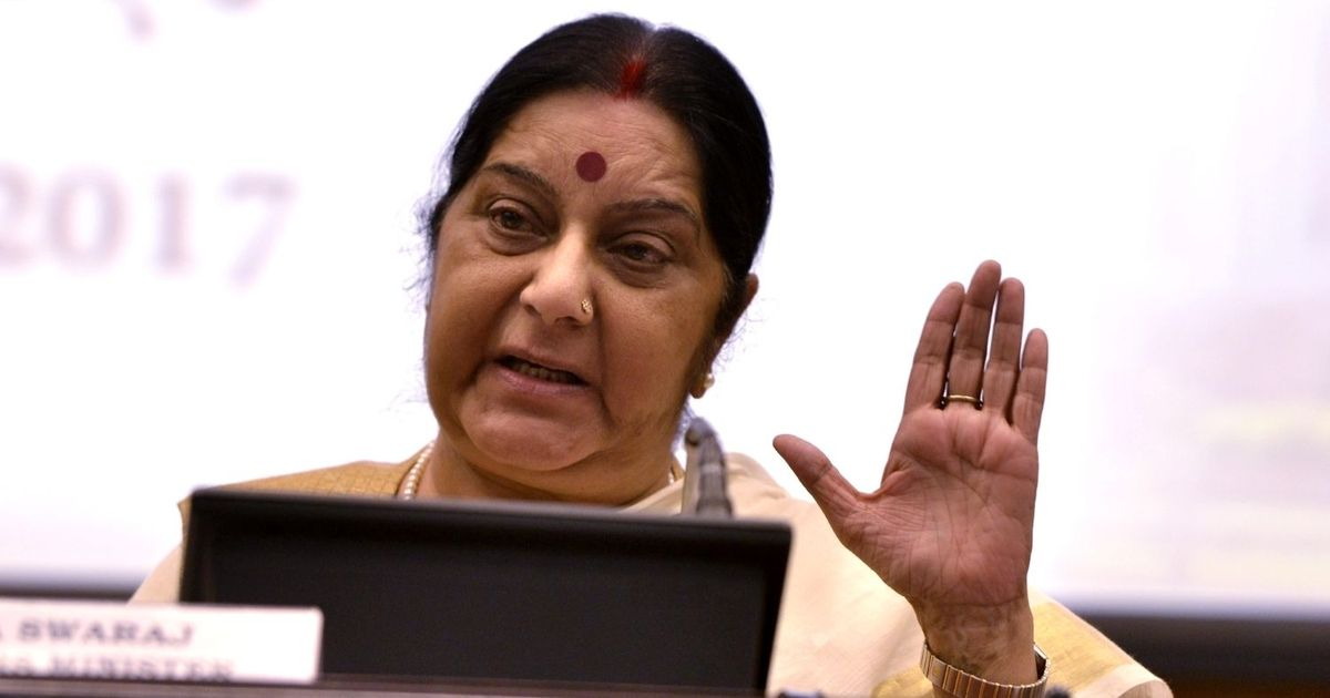 Month after cargo ship with Indians sank off Philippines coast, one body found, says Sushma Swaraj