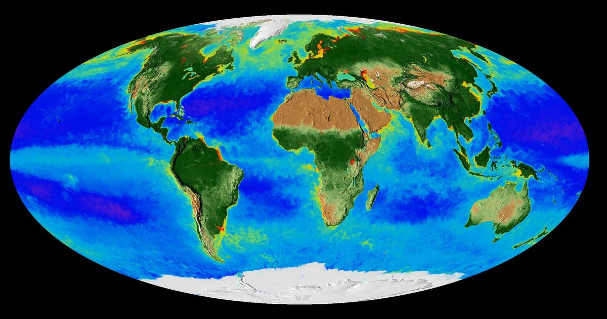 Watch: Nasa video on 20 years of Earth's seasons shows devastating effect of climate change