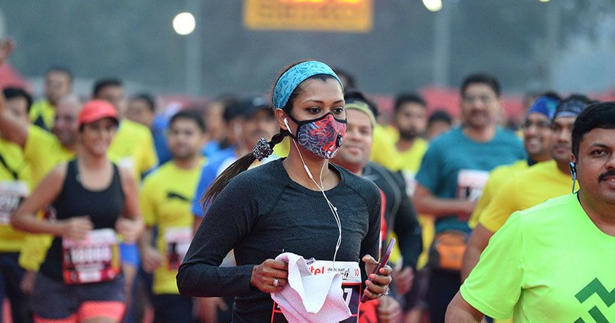Video: Record participation at Delhi half-marathon but at what cost?