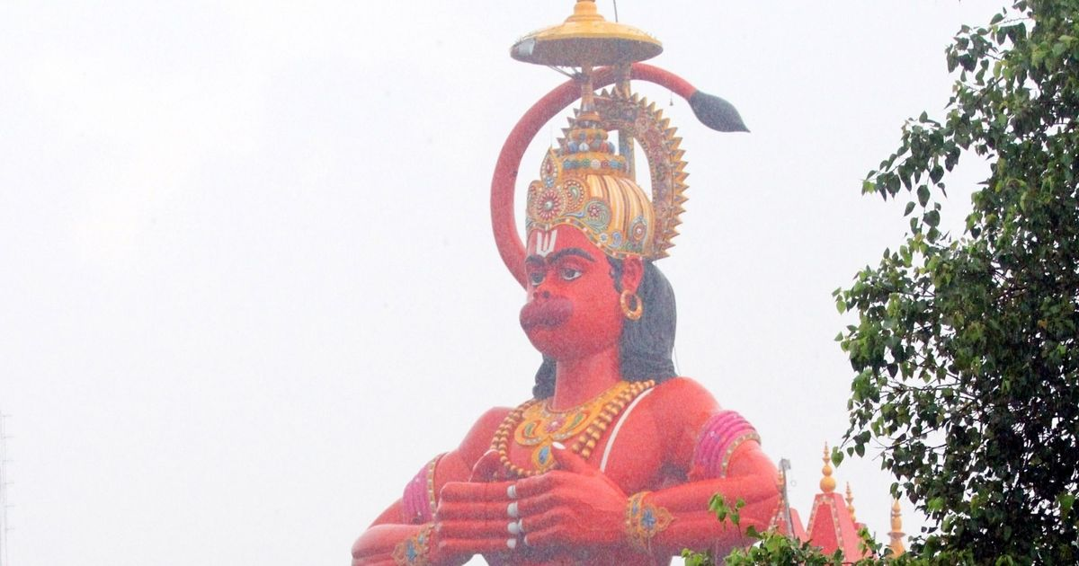 Delhi: Airlift 108-foot Hanuman statue in Karol Bagh to remove encroachments, suggests HC