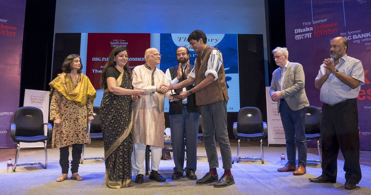 It's down from $50,000 to $25,000, but the DSC Prize is the richest literary prize in south Asia