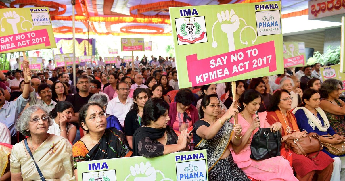 Karnataka Assembly passes watered-down medical bill after doctors' protest