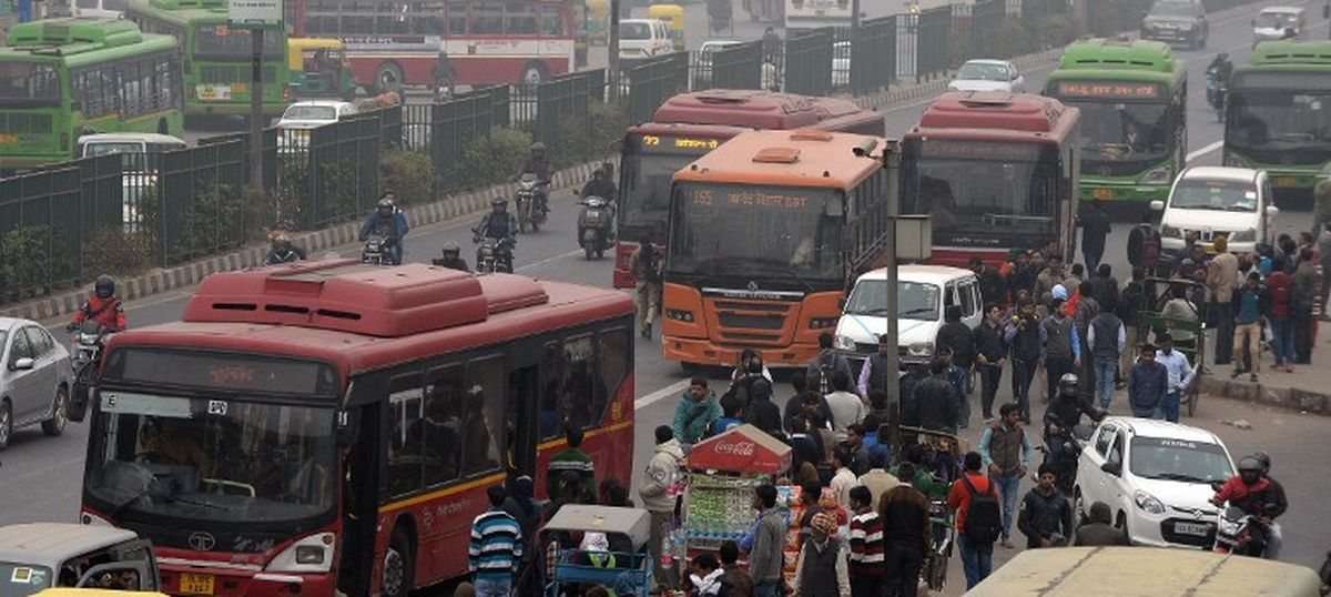 All buses and cabs plying at Delhi airport must run on CNG in six months:  National Green Tribunal