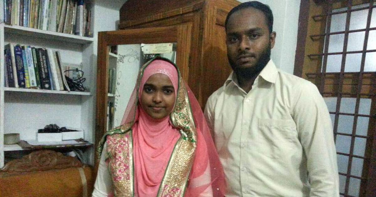 Watch: 'No one forced me to convert', Hadiya tells media as she goes to Delhi for SC hearing