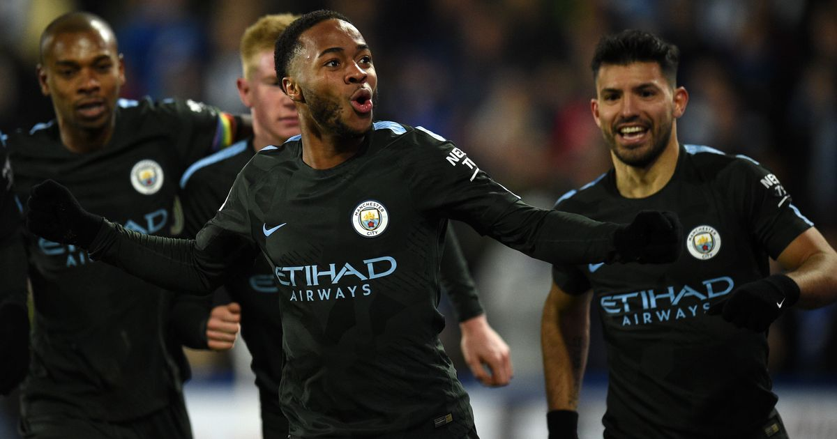 Sterling sends Manchester City 8 points clear, more misery for Everton