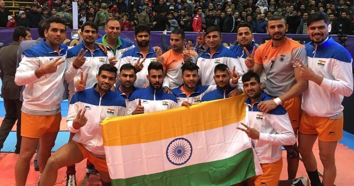 Indian men's and women's teams win 2017 Asian Kabaddi Championships