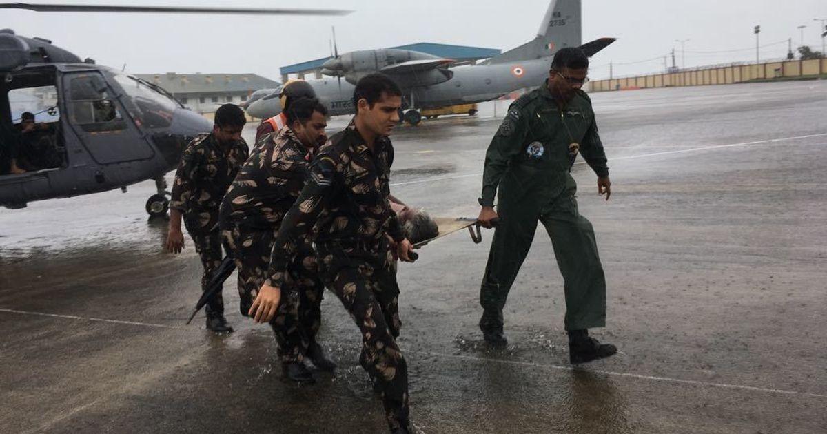 Cyclone Ockhi kills 14 in Tamil Nadu and Kerala, Navy rescues over 210 fishermen stranded at sea