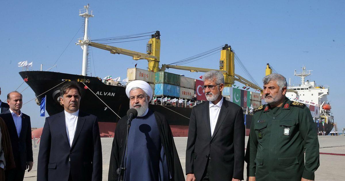 Iranian President Hassan Rouhani inaugurates Chabahar Port developed by India