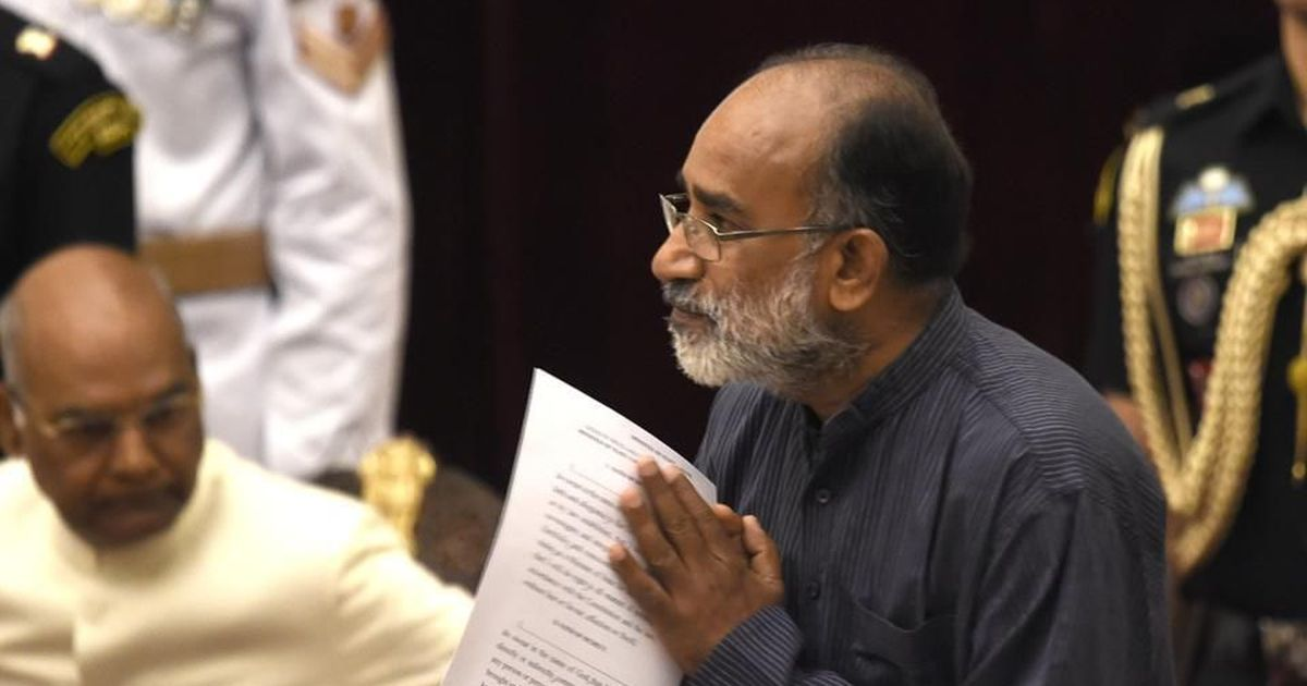 Cyclone Ockhi won't be declared national disaster, says Union minister KJ Alphons