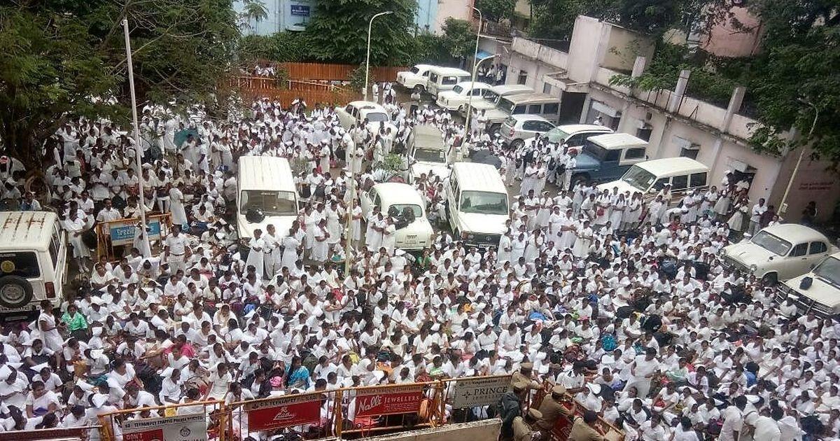 'Equal work, equal pay': Why over 3,000 Tamil Nadu nurses went on strike last week