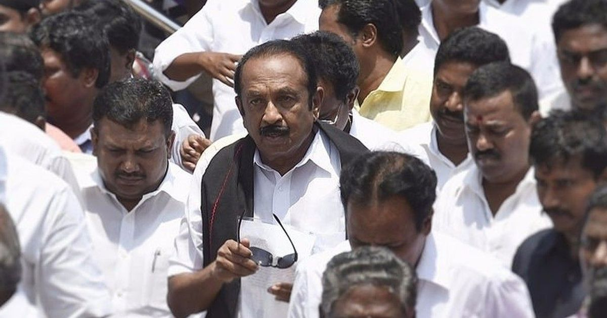 RK Nagar bye-election: Vaiko's MDMK to ally with DMK for the first time since 2006