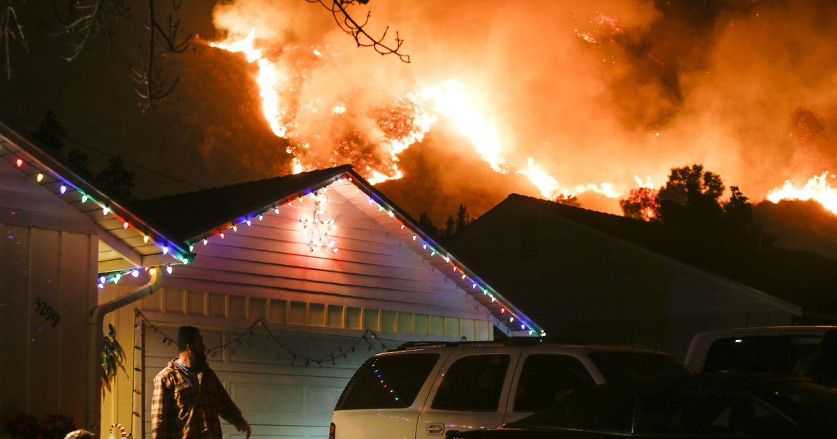 California: 27,000 people evacuated, 150 structures destroyed in wildfire in Ventura