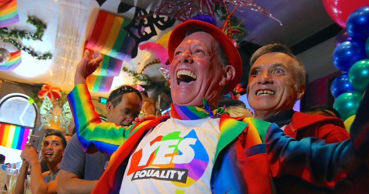 Gay marriage is now legal in Australia