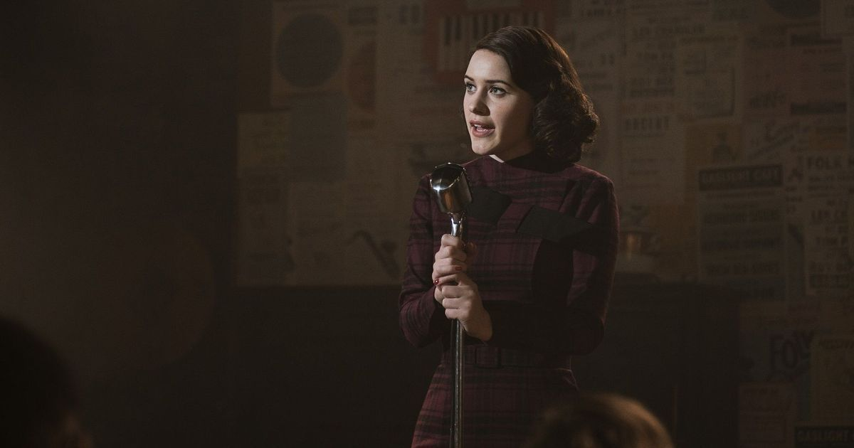 'The Marvelous Mrs Maisel' has something to say about marriage versus career – and it's very funny