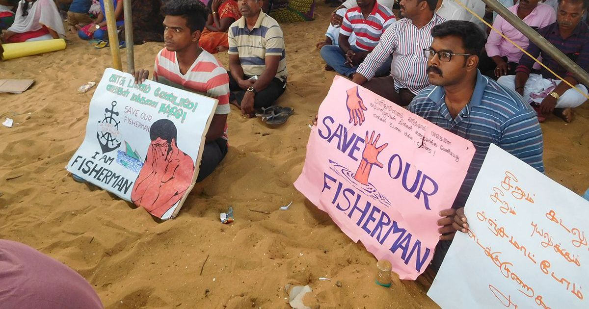 In the wake of Cyclone Ockhi, churches in Tamil Nadu fishing villages turn into protest hubs