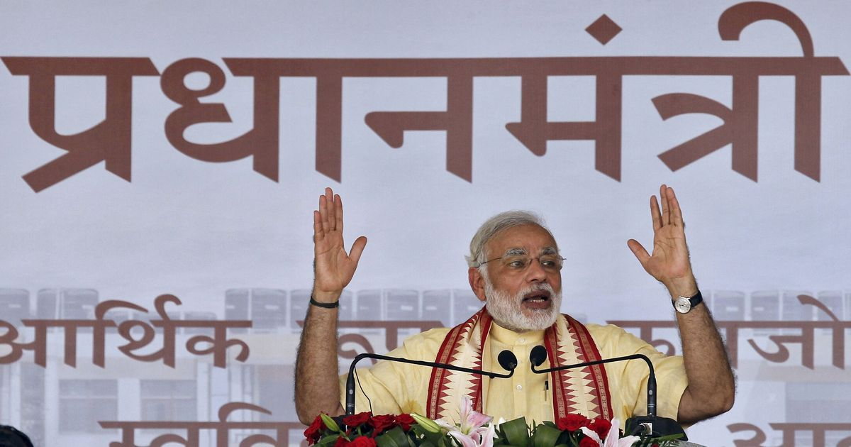 In his attempt to win elections, Narendra Modi does not seem bound by propriety – or even dignity