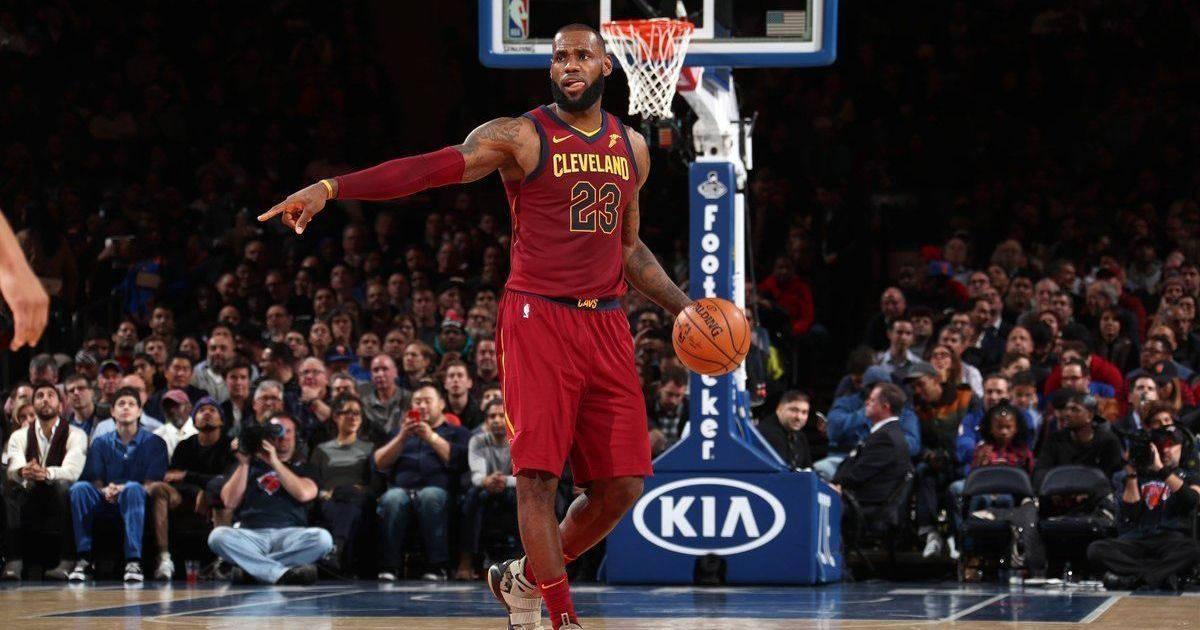 NBA roundup: LeBron James powers Cleveland Cavaliers to ninth straight win
