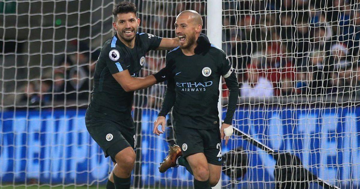 David Silva shines with brace as City register record 15th successive Premier League win