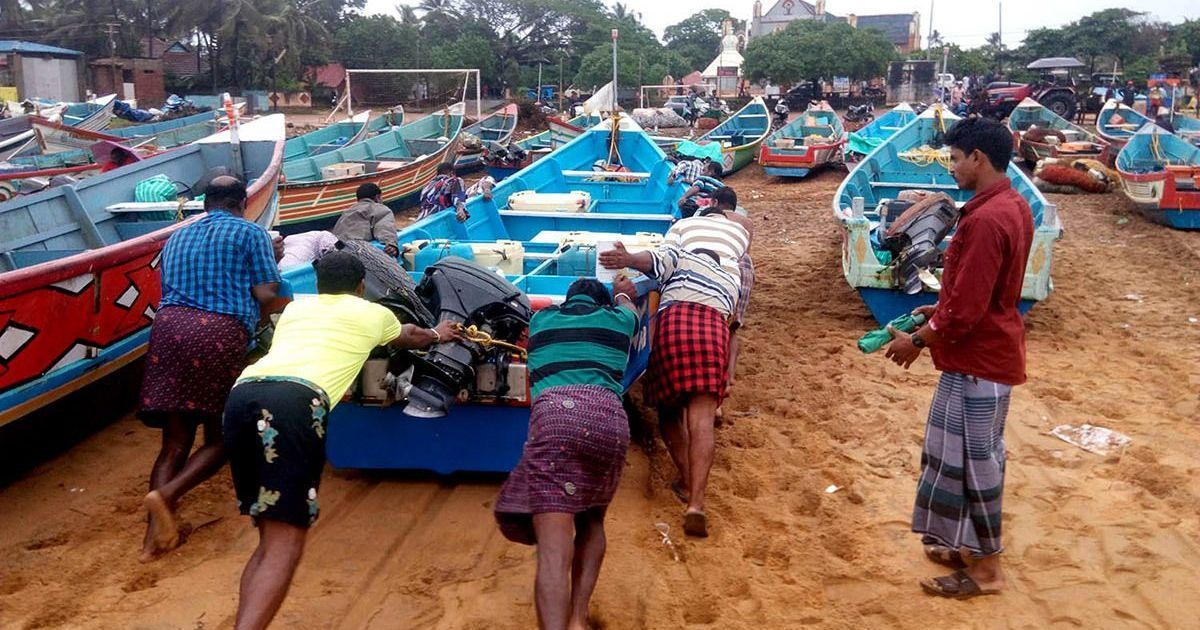 Over 600 fishermen still missing in Kerala and Tamil Nadu after Cyclone Ockhi