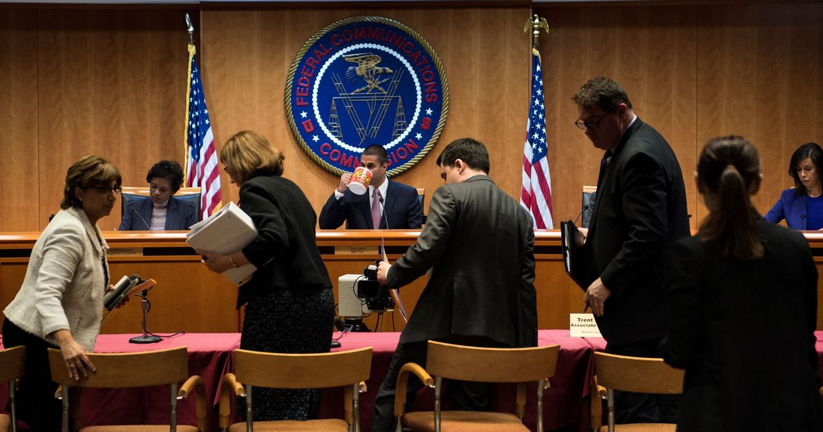 United States communications regulator repeals net neutrality rules in 3-2 vote