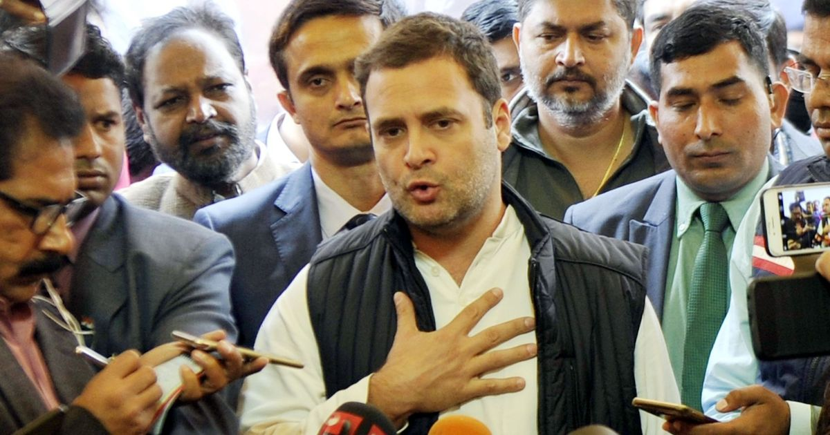 The big news: Rahul Gandhi calls Gujarat results a major setback for BJP, and nine other top stories