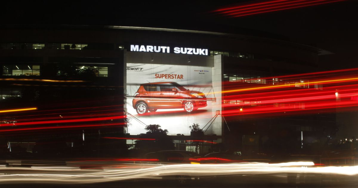 Maruti Suzuki breaches Rs 3 lakh crore in market capitalisation as stock touches Rs 10,000 briefly