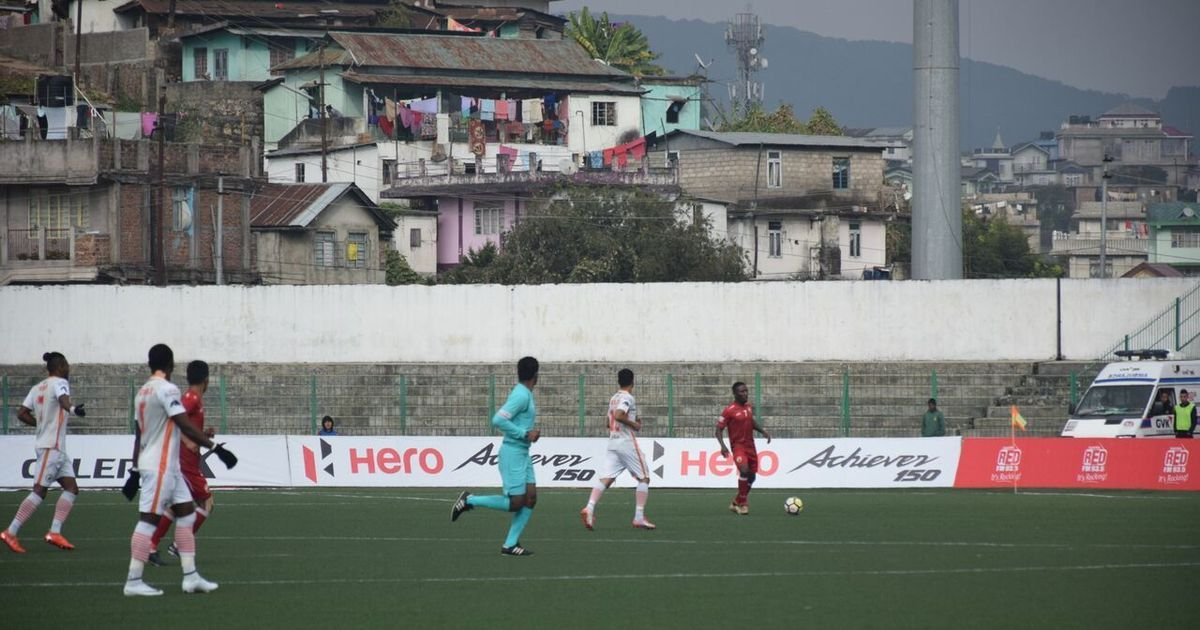 Neroca get away win over Shillong Lajong to go third in I-League table
