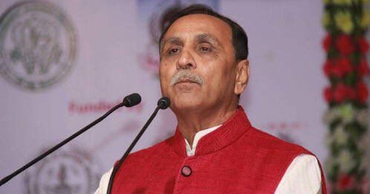 Vijay Rupani sworn in as Gujarat chief minister, Nitin Patel as his deputy
