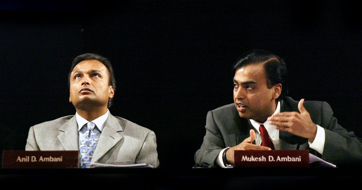 Anil Ambani sells wireless assets of Reliance Communications to brother Mukesh's Jio