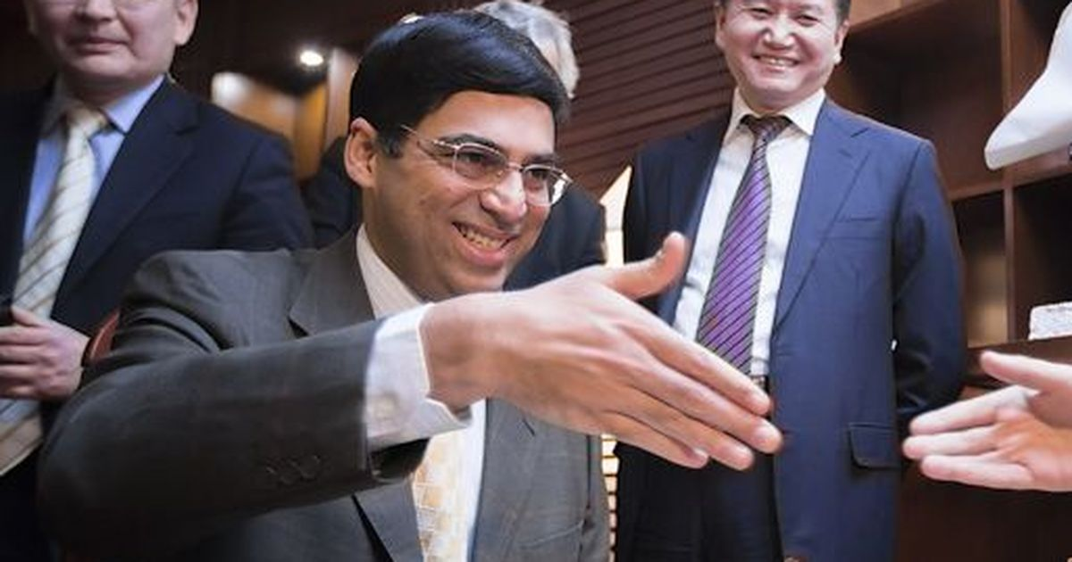 Once a poster boy for rapid chess, India's Vishy Anand blitzes his way into the frame again