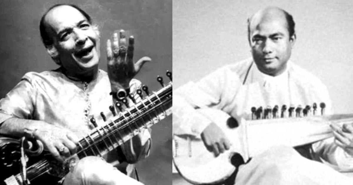 Listen: In this duet by Ali Akbar Khan and Vilayat Khan, sarod and sitar strike up a conversation