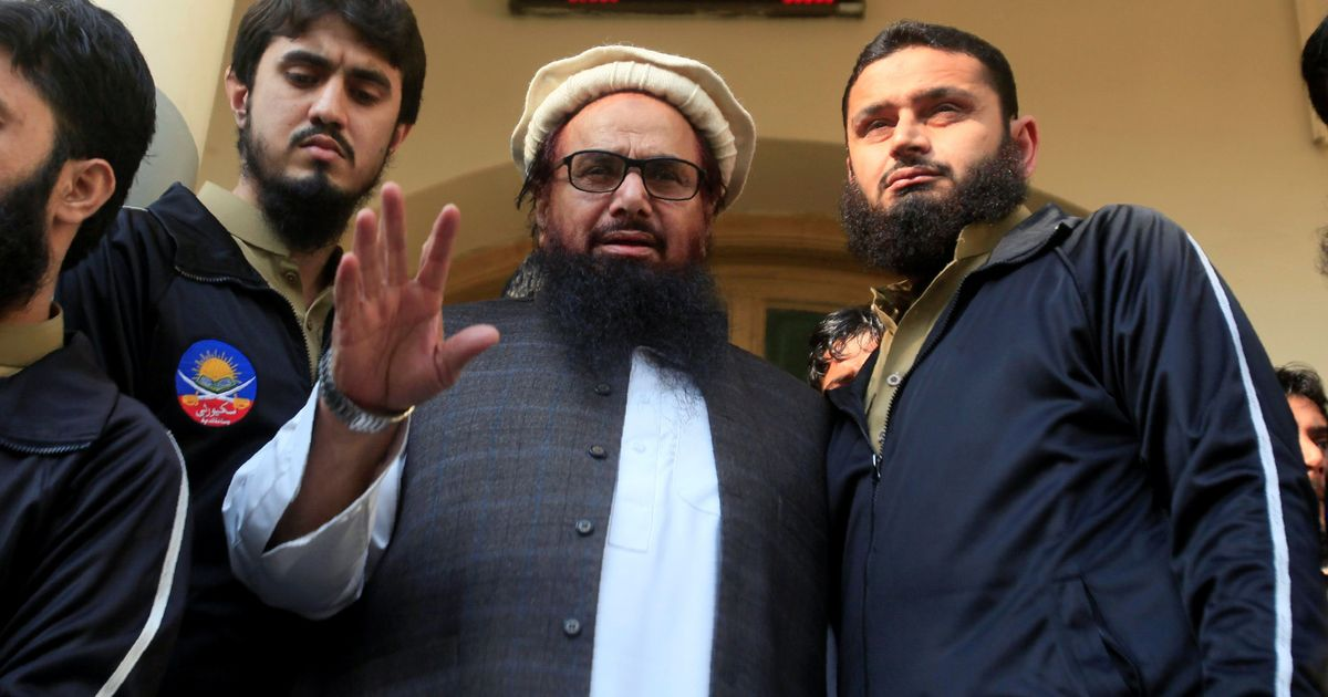 Palestine recalls its ambassador to Pakistan for sharing stage with Hafiz Saeed
