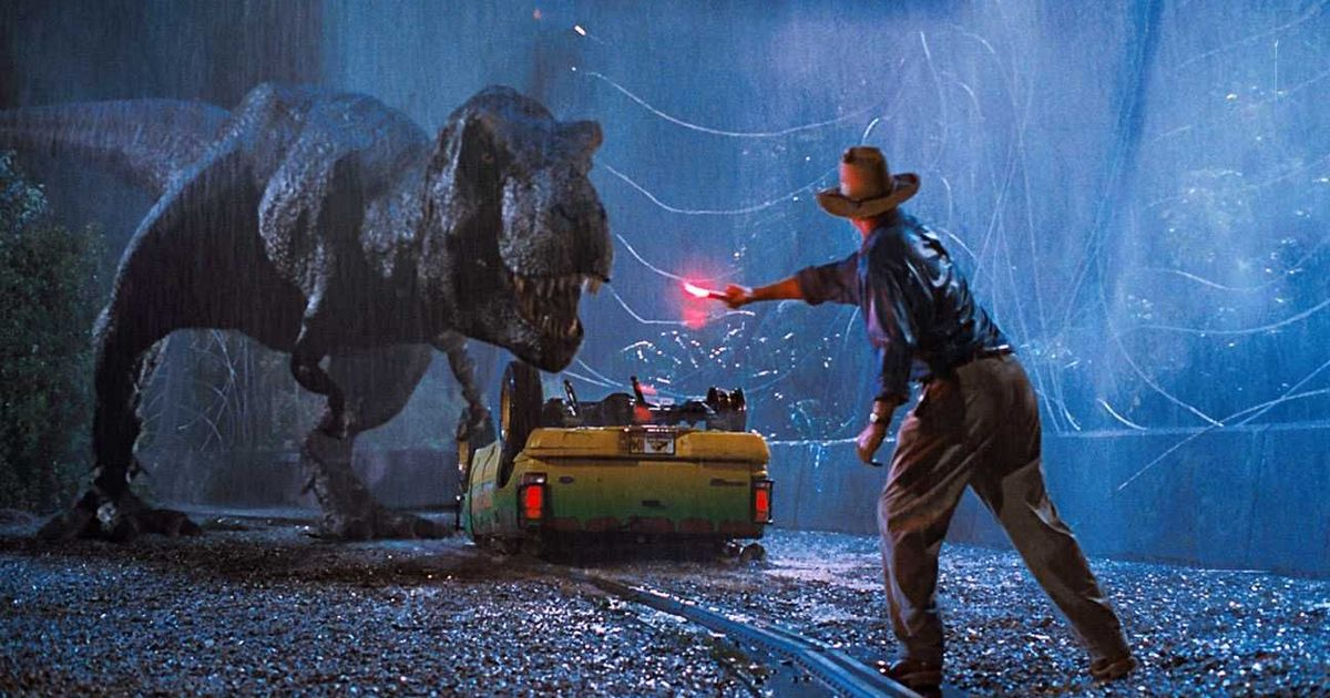 Song for the New Year: Celebrating with cake at midnight and the terrible lizards of 'Jurassic Park'