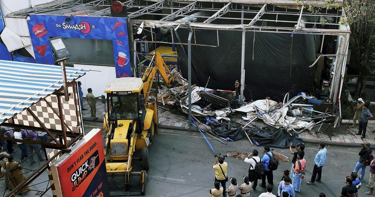 BMC demolishes illegal extensions at 314 restaurants in Mumbai, day after Kamala Mills fire kills 14