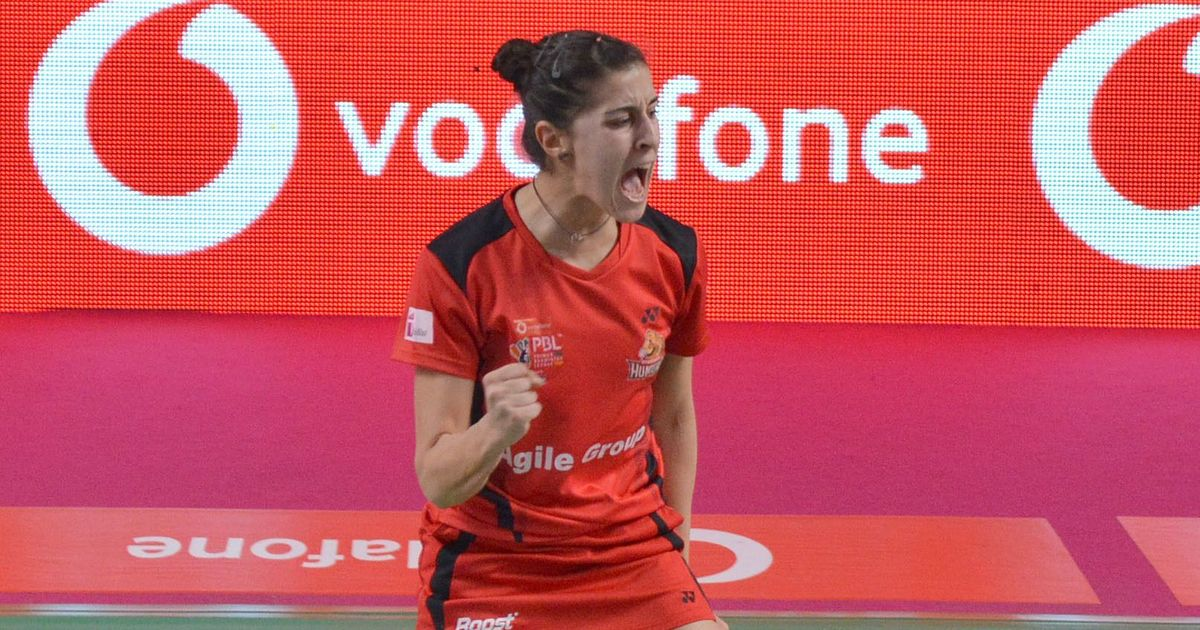 PBL: Delhi Dashers crush Hyderabad Hunters despite Carolina Marin's stunning win