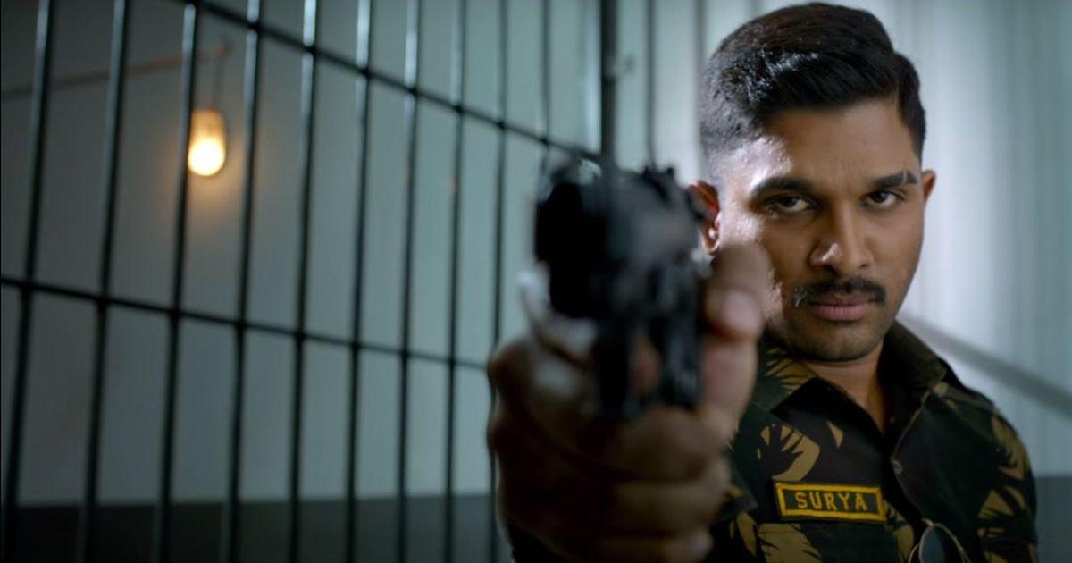 Watch: Allu Arjun as a soldier with anger issues in 'Naa Peru Surya Naa illu India'