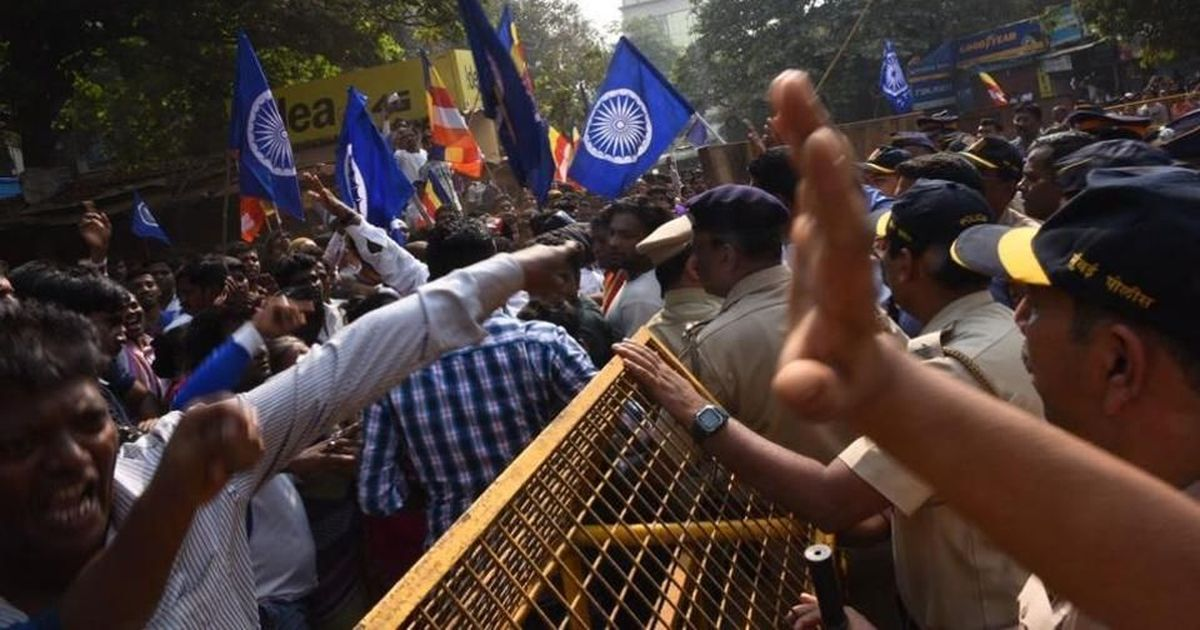 'We won't remain silent against these atrocities': Dalit anger spills over in eastern Mumbai