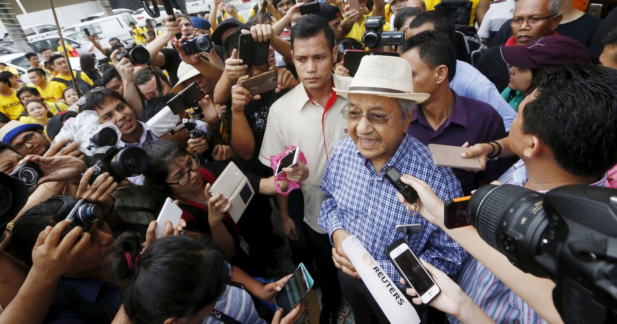 Malaysia: Former Prime Minister Mahathir Mohamad to run for office at 92