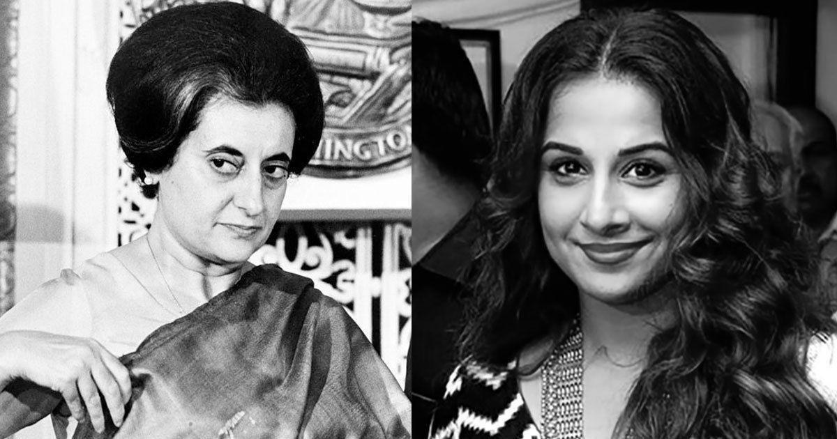 Vidya Balan to play Indira Gandhi in adaptation of Sagarika Ghose's biography