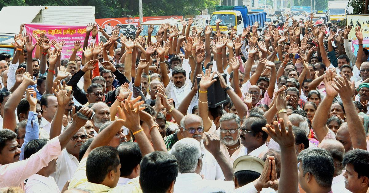 Tamil Nadu transport unions say they are ready to accept government's offer of 2.44-times wage hike
