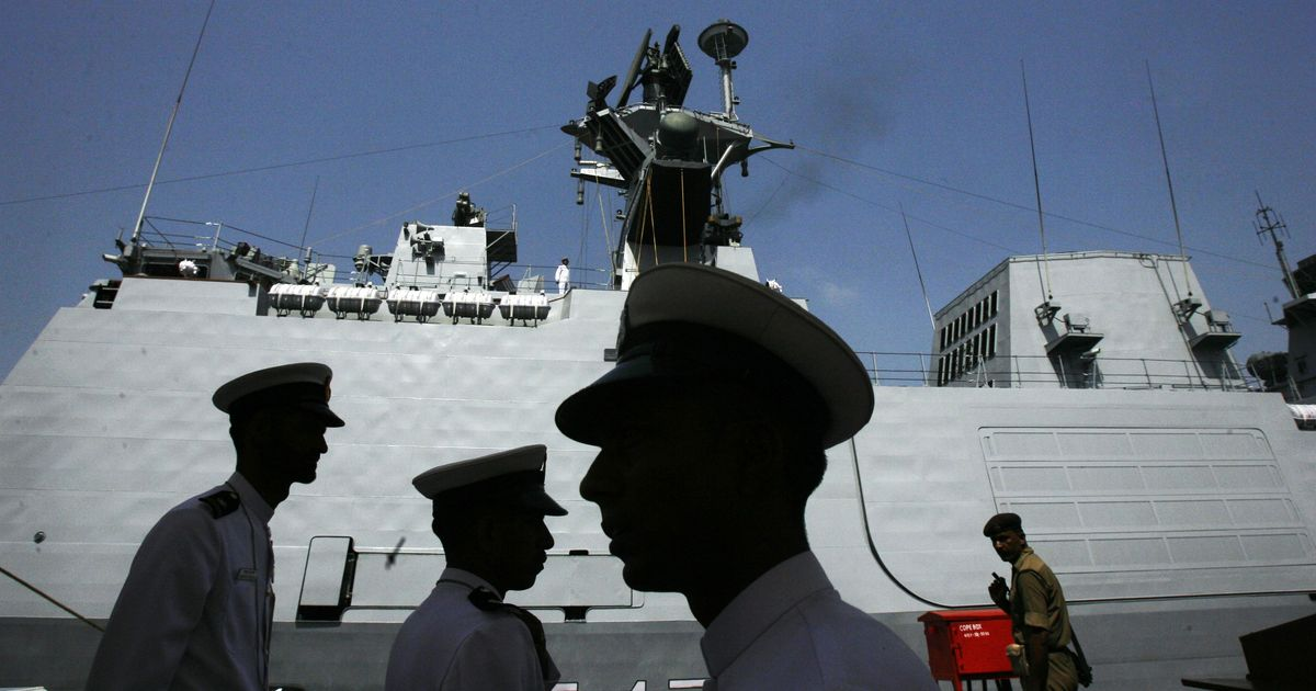 Visakhapatnam: Fire breaks out on INS Shivalik warship, no casualties reported