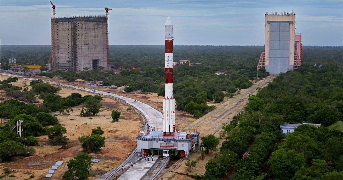 ISRO launches India's 100th satellite from Sriharikota space centre