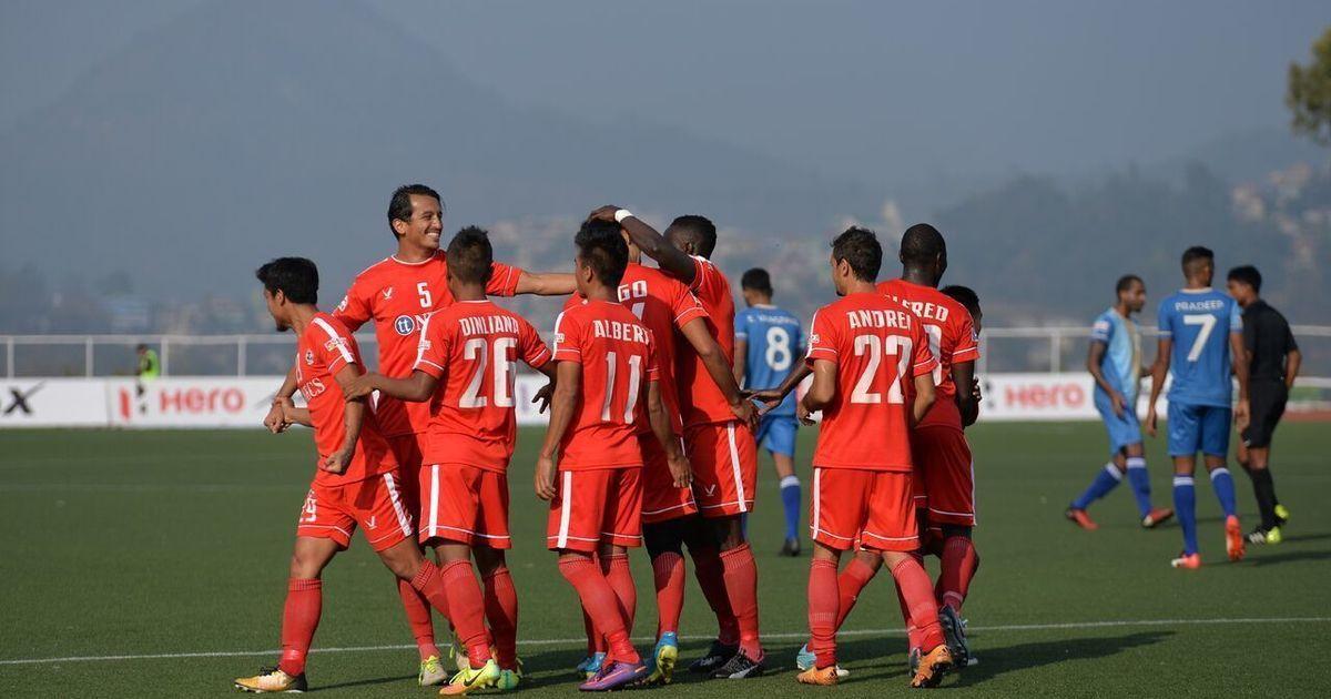 Clinical Aizawl beat Chennai City 2-0 for fourth win of I-League season