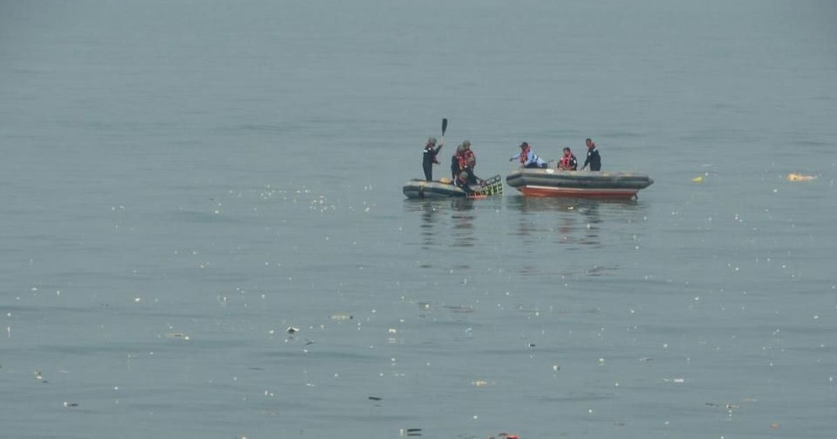 Coast guard finds voice data recorder of helicopter that went missing off Mumbai coast