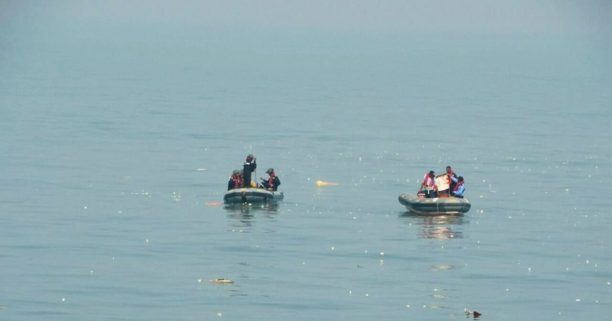 ONGC helicopter crash: Coast Guard finds human remains while searching for missing crew member