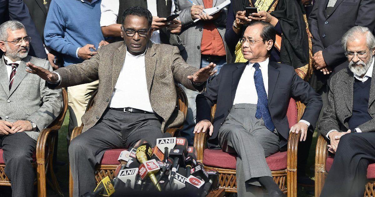 No change in Supreme Court's Constitution Bench, despite press conference by senior judges