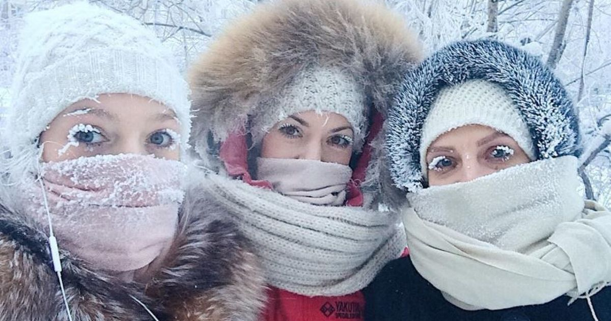 Public thermometer breaks down in Siberian village as temperatures drop to -62°C