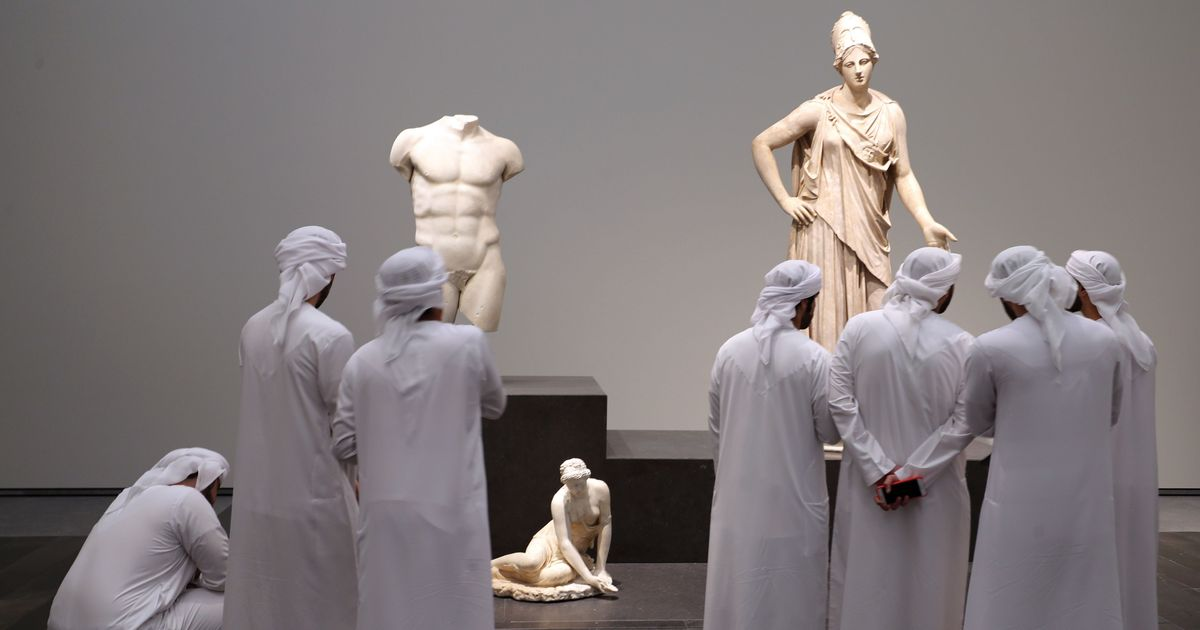 High quality artworks and plenty of questions mark a visit to the Abu Dhabi Louvre